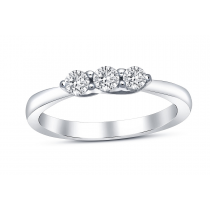 18ct White Gold 0.35ct Diamond Ring