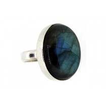 Sterling silver Labradorite Ring Oval Shape