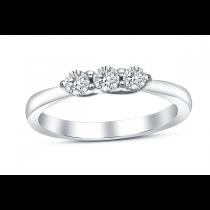 18ct White Gold 0.35ct Diamond Ring