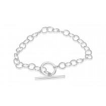 Sterling Silver 925 Charm Bracelet