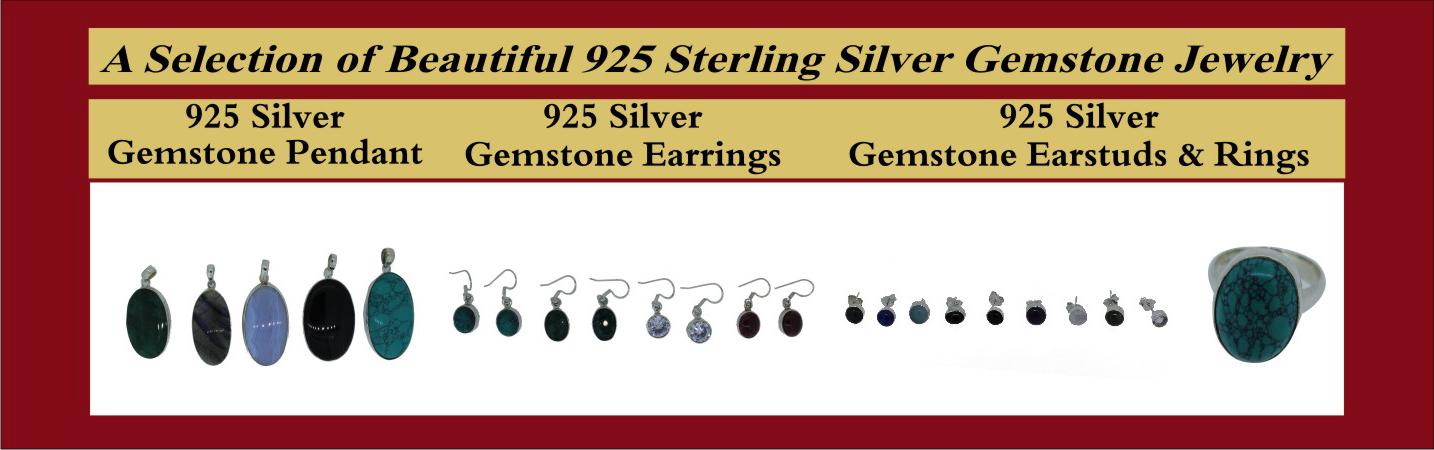 silver gemstone